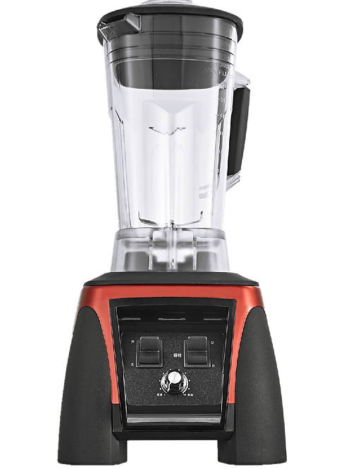 Red Commercial smoothie Blender