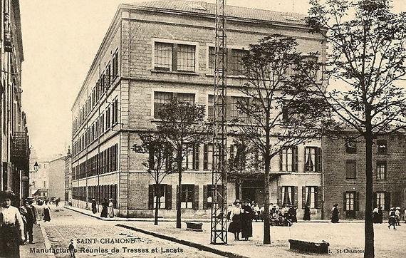 tressage maison tresses lacets manufactures réunies saint chamond dorlay patrimoine textile
