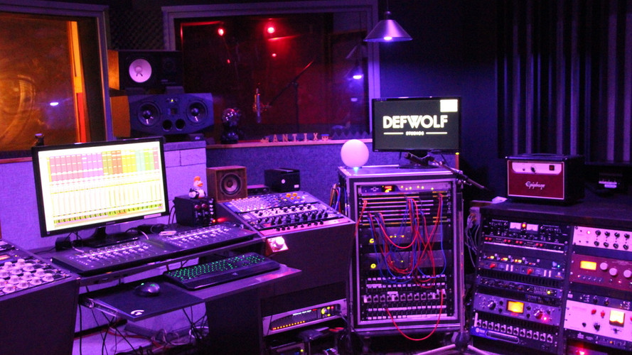 Control Room Blue