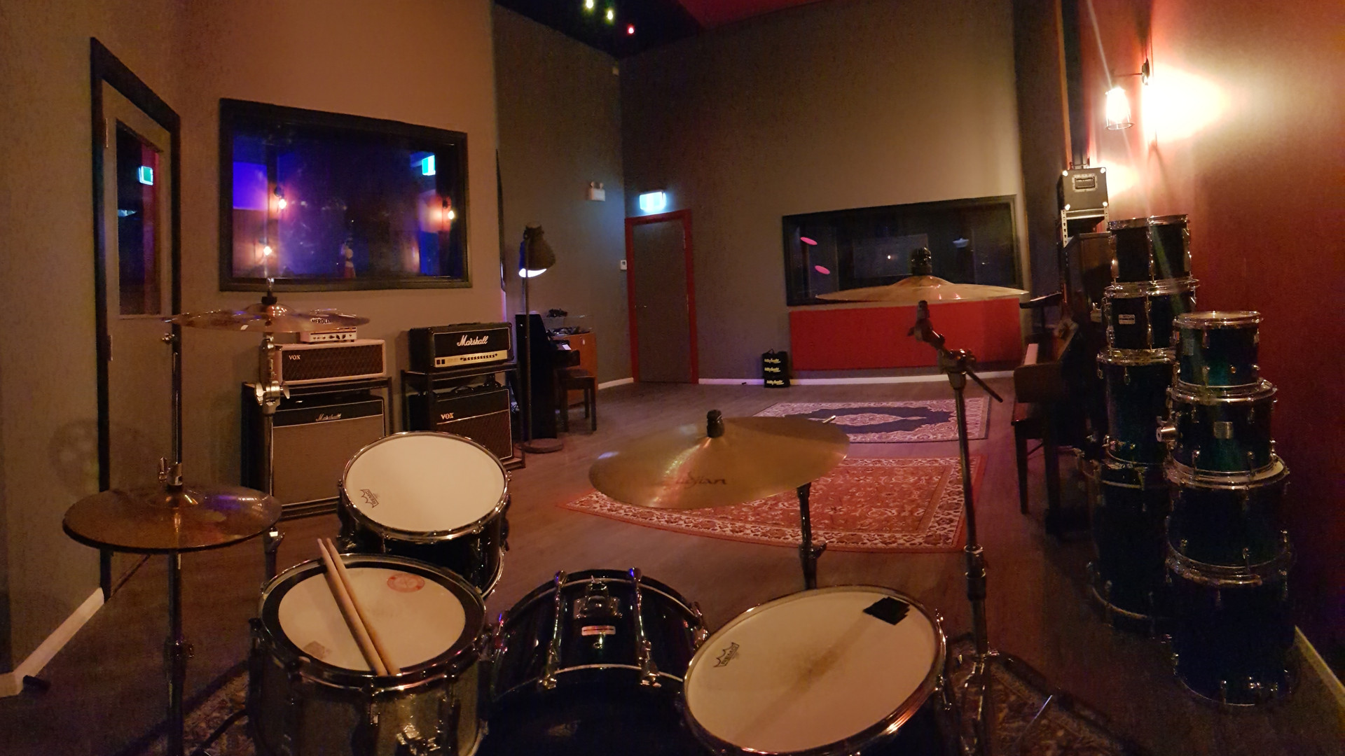 Behind the Drums Live Room