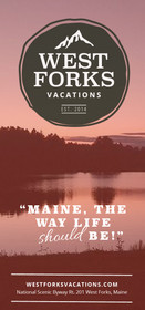 West Forks Vacations rack card