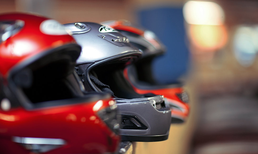 Race Car Helmets
