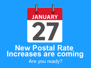 U.S. Postal Service Proposes New Rates for 2019!