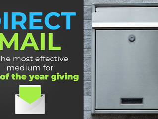 Direct mail still reigns supreme for year-end appeals.