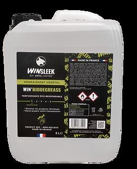 WIN'BIODEGREASS - Dégraissant végétal - Recharge 5L