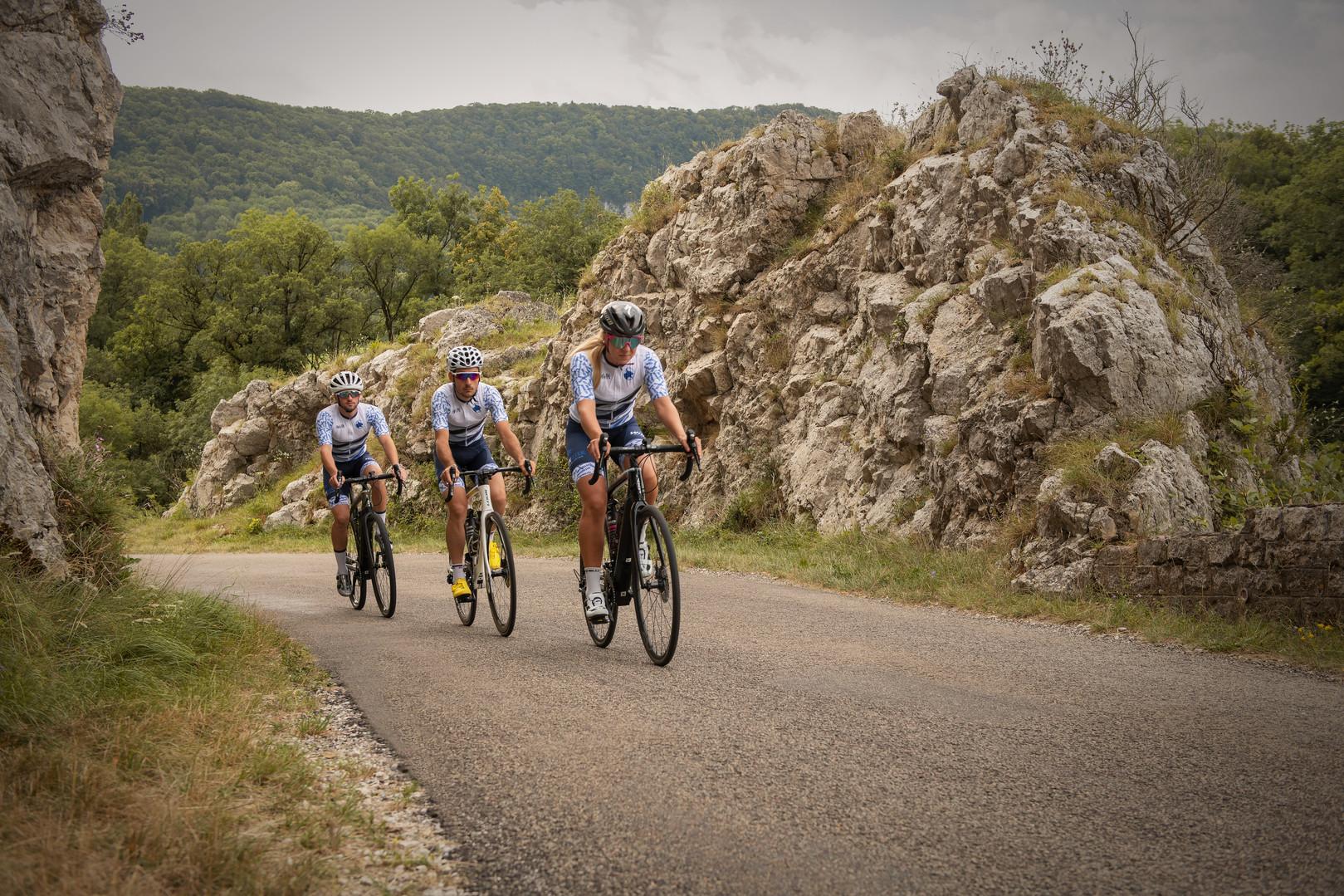 Equipe WinSleek - Route