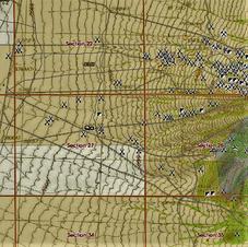 Placer Gold Claim Area Nevada