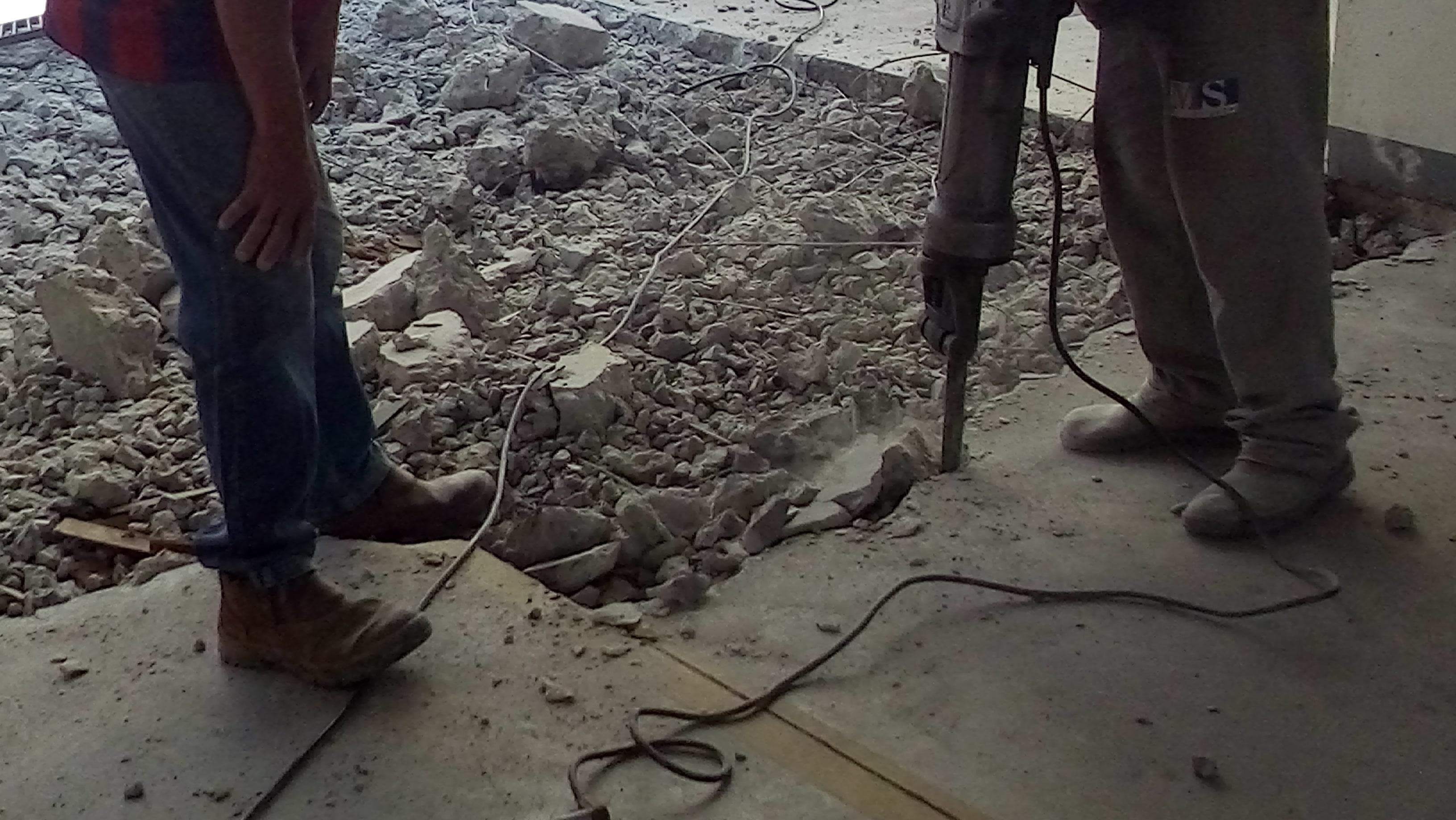 Piso de Concreto Fissurado - Fecci