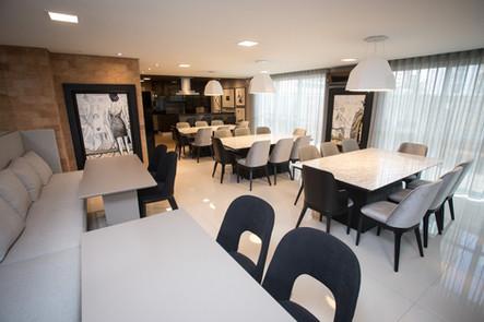 Espaço Gourmet - Edifício Mondrian - Gustavo Fecci