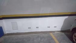 Infiltração Garagem - Subsolo - Edif