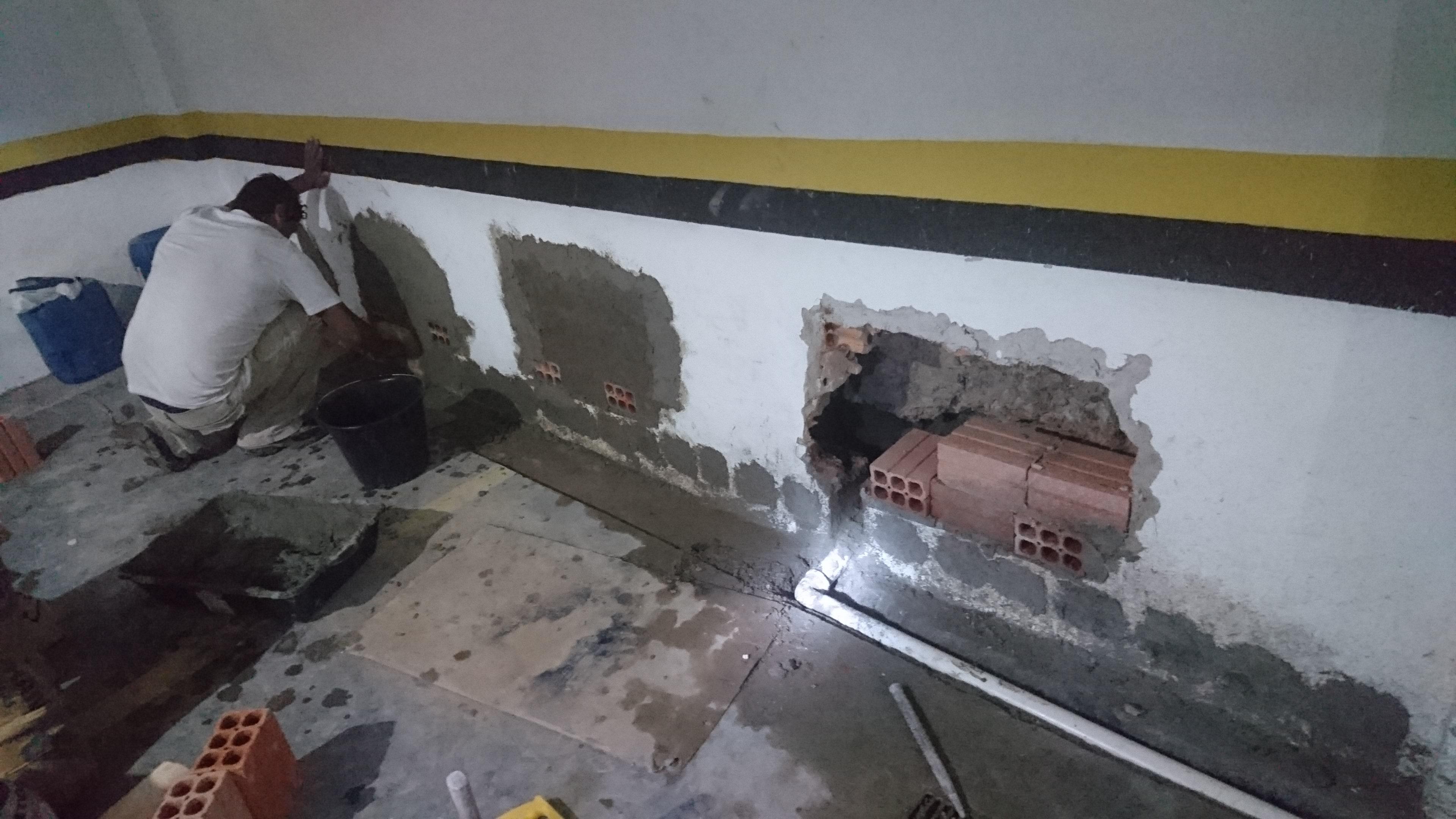 Infiltração Garagem - Subsolo - Edifício