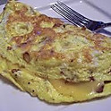 Turkey and Cheese Omelette
