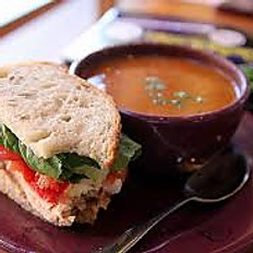 Half a Turkey BLT with choice of Chili, Soup of The Day or House Salad