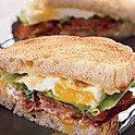 Meat and Egg Sandwich