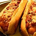 Bean Chili Cheese Dog