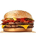 1/2 Pound Double Bacon Cheese Burger