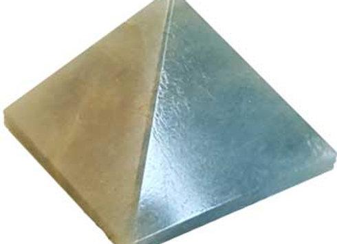 30- 35mm Aquamarine pyramid