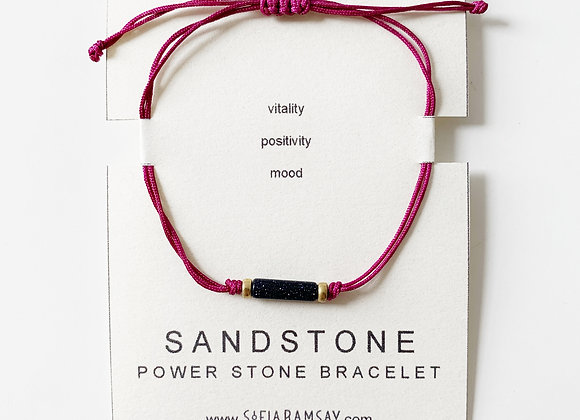 Sandstone Power Stone Bracelet