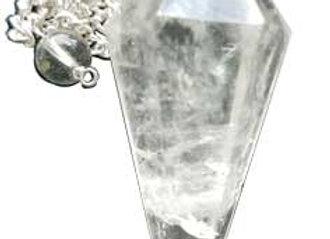 6-sided Quartz pendulum