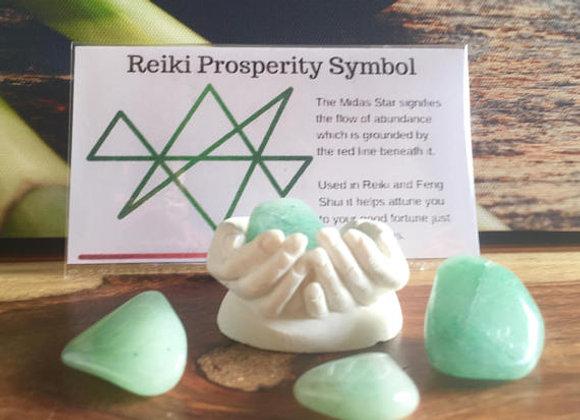 Abundance kit, Crystals, meditation, abundance,