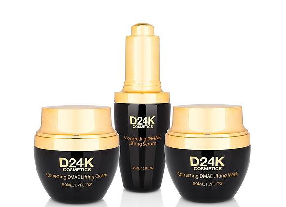 24K DMAE Lifting Set - Mask / Cream / Serum