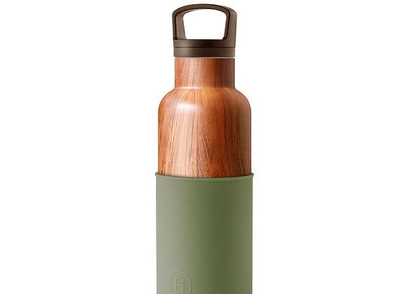 Wood Grain-Army Green 16 Oz