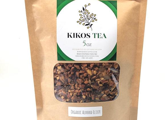 Kikos Tisane Organic Almond Elixir Tea 5 Oz