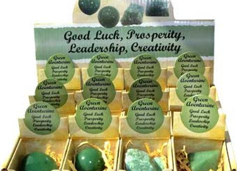 Aventurine, Green gift box (set of 12)