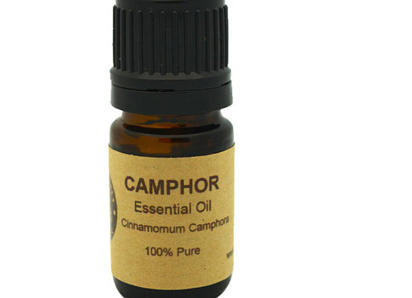 Camphor Essential Oil 5ml, 10ml or 15 ml