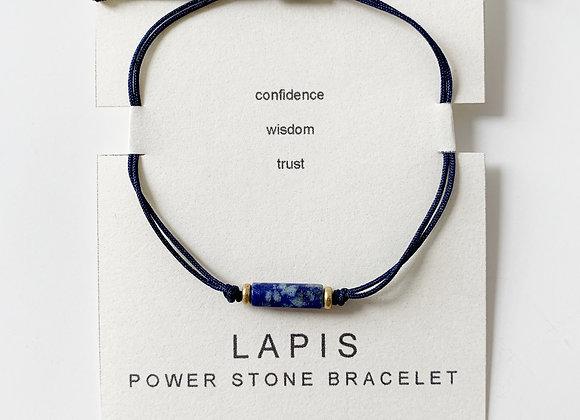 Lapis Power Stone Bracelet