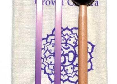 """8 1/2"""" Crown (purple) tuning fork"""