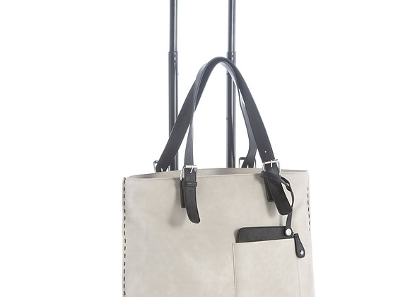 CHICAGO ROLLER TOTE, ASH