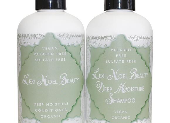 Lexi Noel Beauty Organic Vegan Shampoo and Conditioner Set