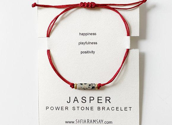 Jasper Power Stone Bracelet