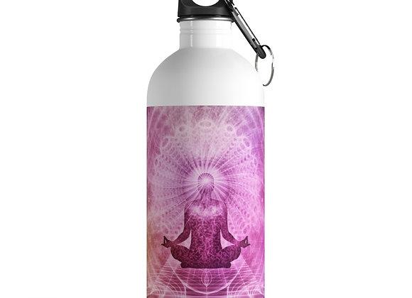 Meditation Stainless Steel Water Bottle