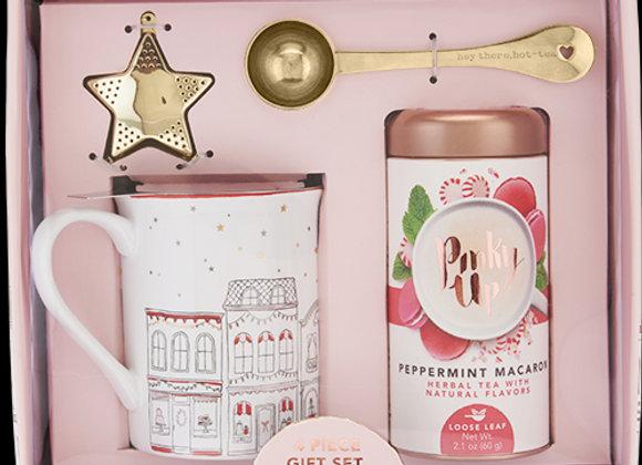 Holiday Infuser Mug, Scoop, Star & Tea Kit