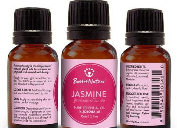 Jasmine Absolute Essential Oil blended with Jojoba Oil