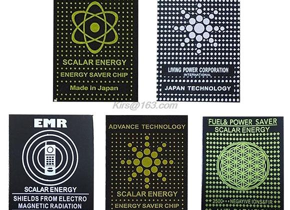 10PCS EMR Scalar Energy Phone Sticker Anti Radiation Chip Shield