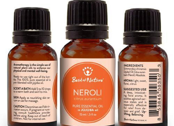 Neroli Absolute Essential Oil blended with Jojoba Oil
