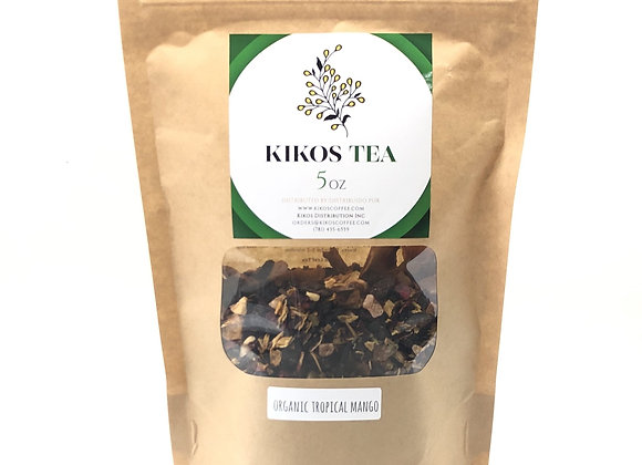 Kikos Organic Tisane Tropical Mango Tea 5 Oz