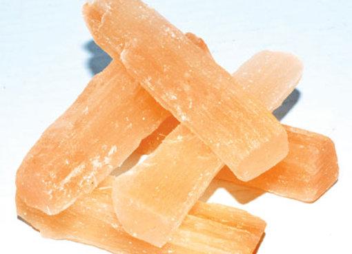 "3"" Orange Selenite mini sticks 5 pk"