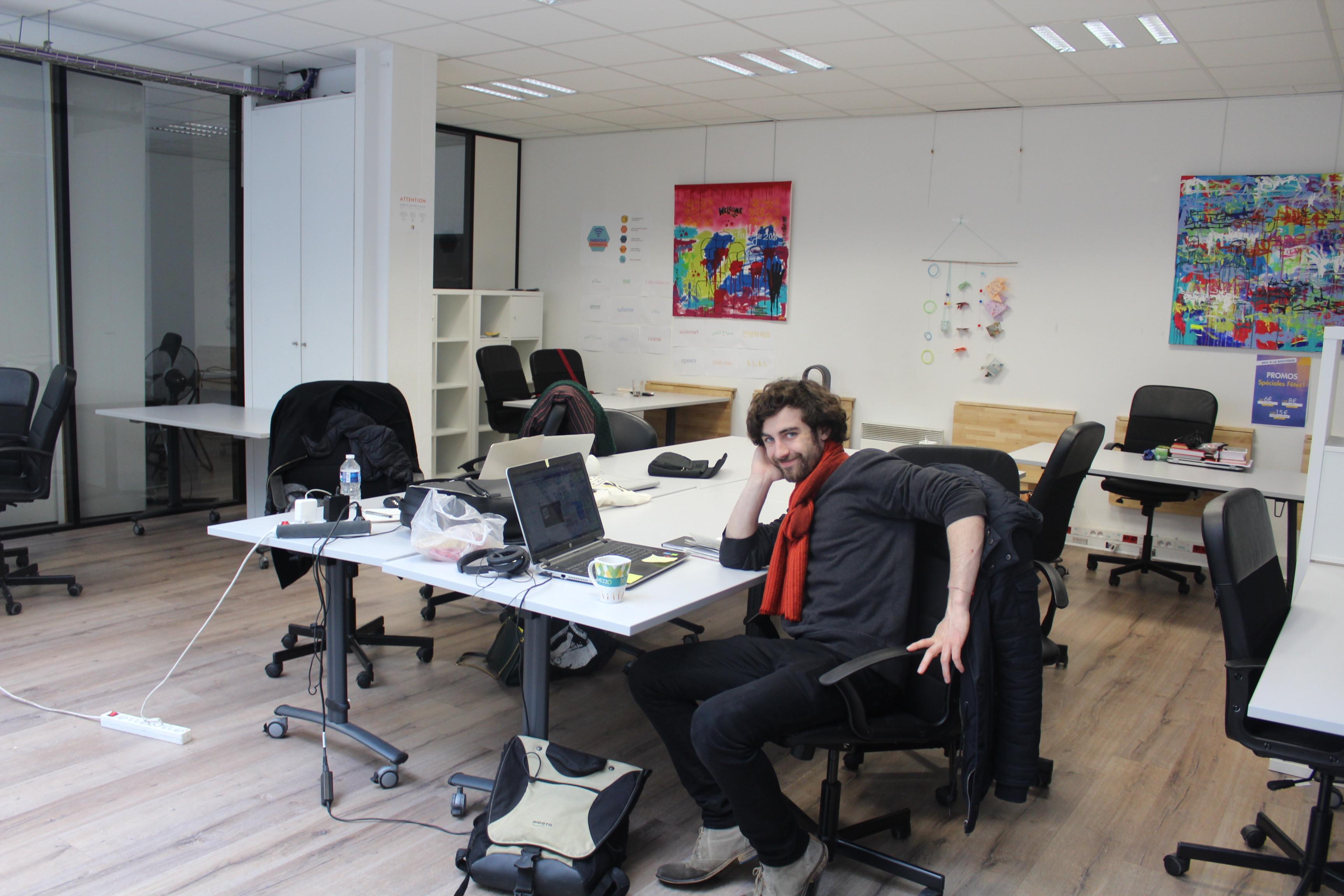 Les bureaux en open space