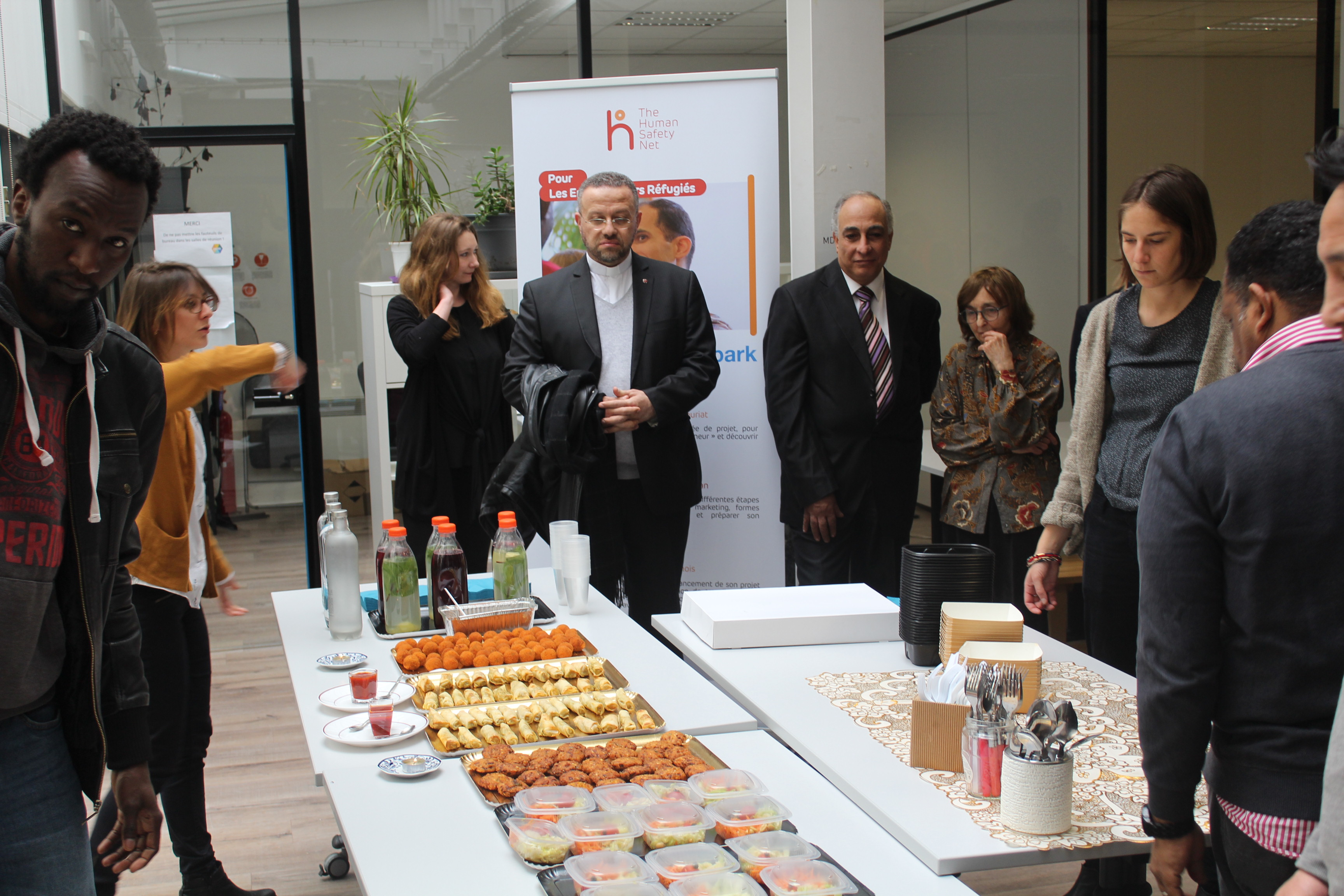 Visite des entrepreneurs THSN