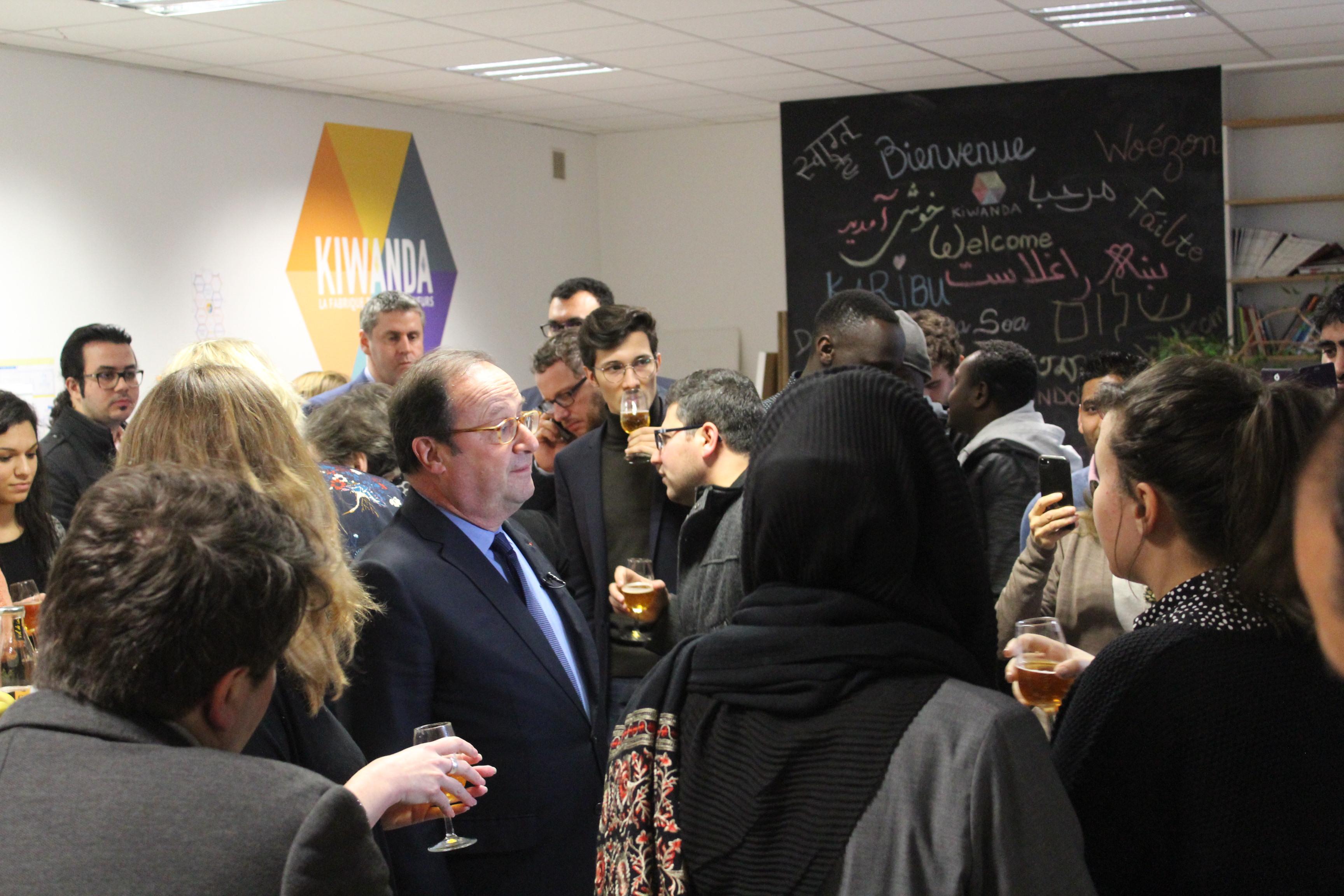 Visite de F.Hollande