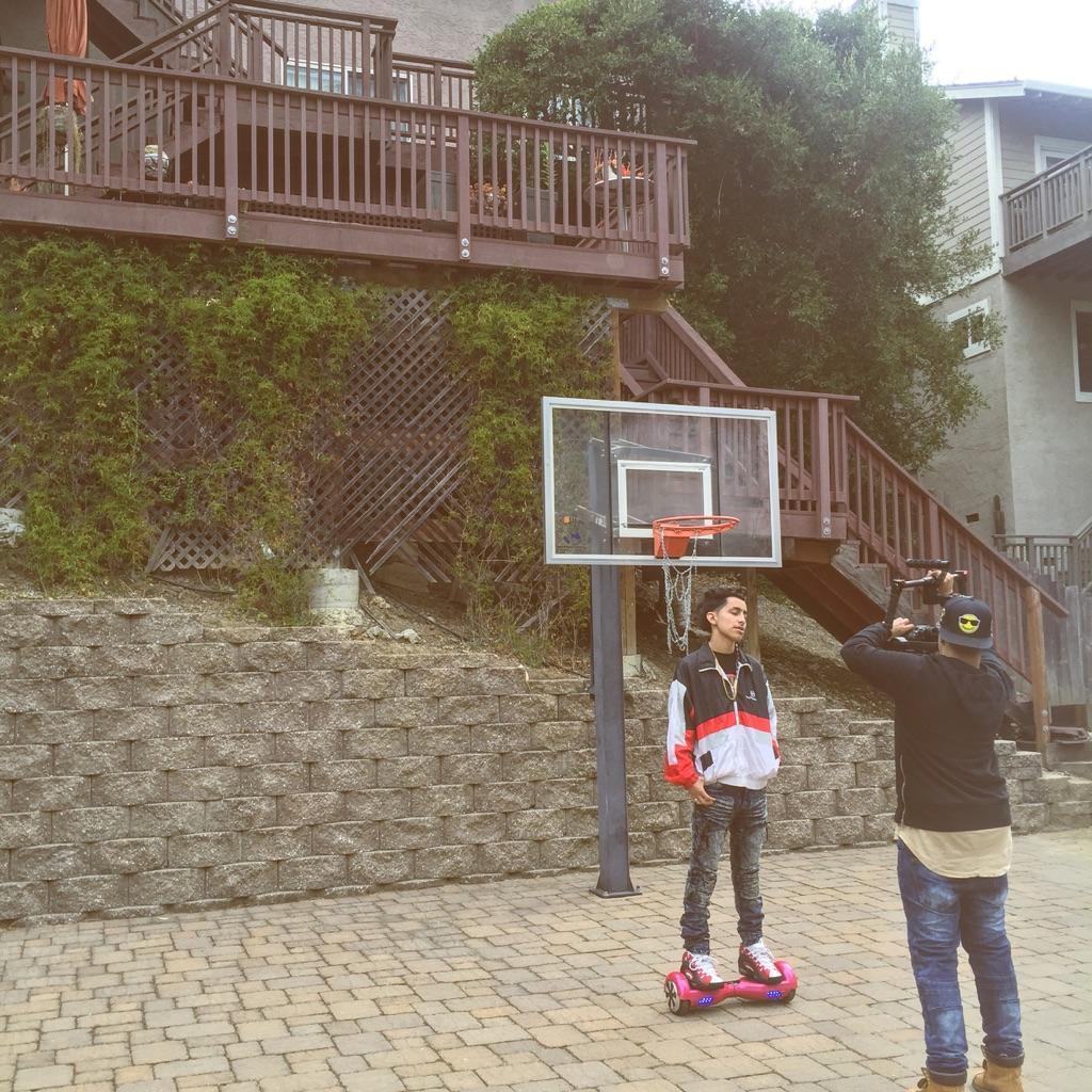 iPhone Pic of Jae & Justin