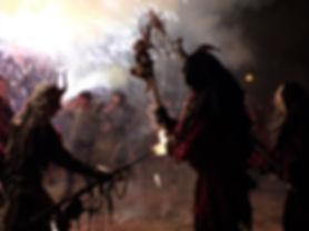 Fiesta San Juan  Correfoc Palma fête majorque démons spectacle feux d'artifice batucada à voir