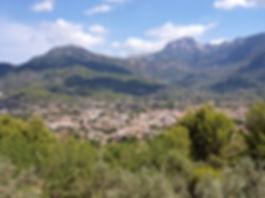 Soller train village montagne Majorque