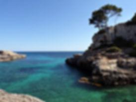 Cala S'Almonia - Cala S'almunia plage majorque