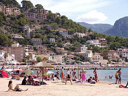 Puerto Soller - Port de Soller Soller train village montagne Majorque