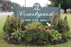 The Courtyards Sign